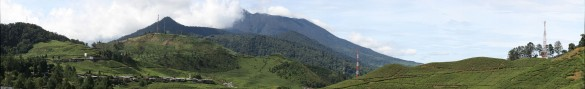 A view of Puncak where the riding happens