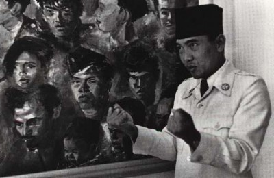 Bung Karno and Sudjojono