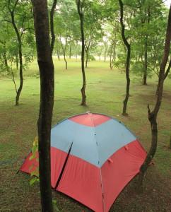 Camping at Taman Mekarsari