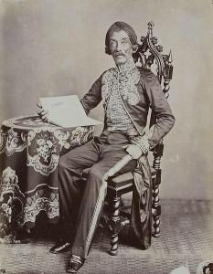 An original photograph of Raden Saleh