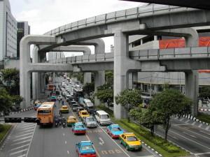 Skytrain Bangkok