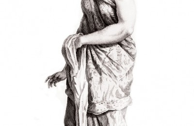 "Balische Slavin"" (Balinese Slave) by Cornelis de Bruyn, circa 1711. BARTELE GALLERY"