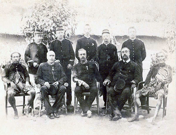 Officers of the Lombok expedition in 1894