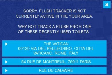 Flush Tracker Vatican