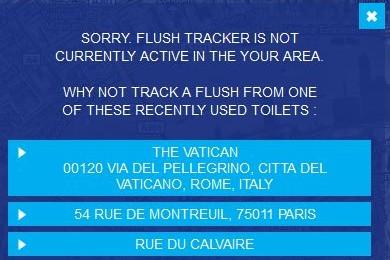 Flush Tracker Vatican