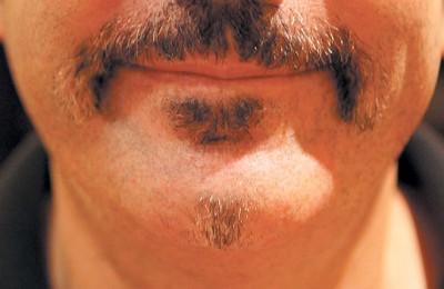Lens Moustache
