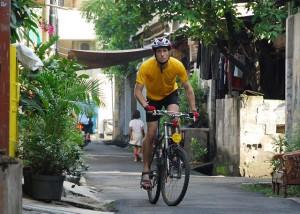 Andrew Whitmarsh exploring Jakarta