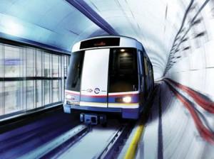 MRT Jakarta (ilustrasi)
