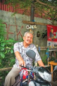 Pak Aseni-The Ojek Driver