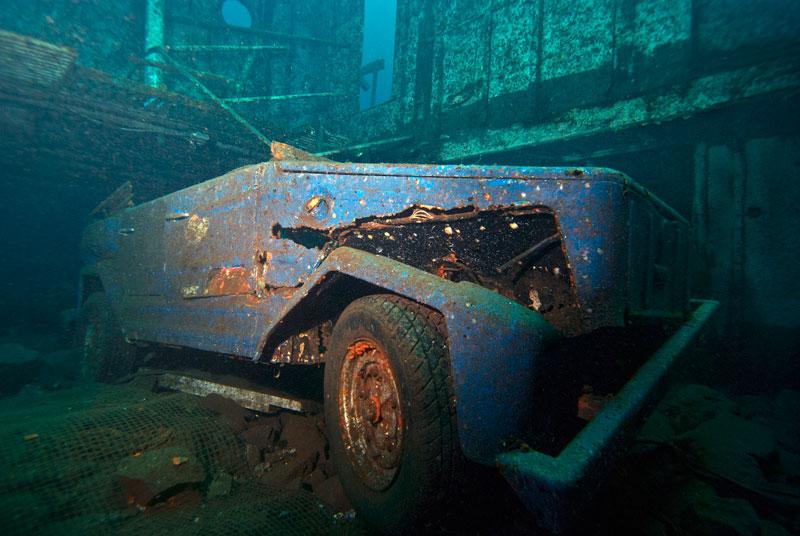 The Boga Shipwreck