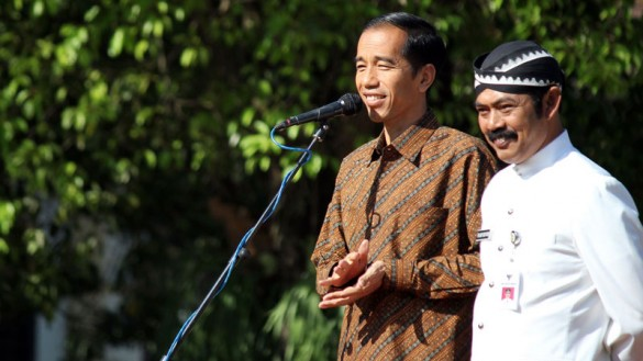 Jokowi-The elected governor of Jakarta
