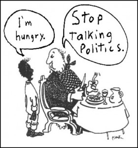 Stop Talking Politics