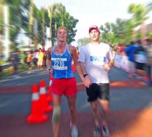 Gareth Rae - Bali Marathon