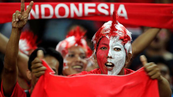 Indonesian Football Supporter