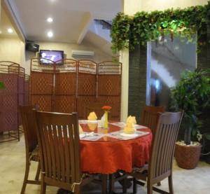 inside Pyong yang Restaurant - Jakarta