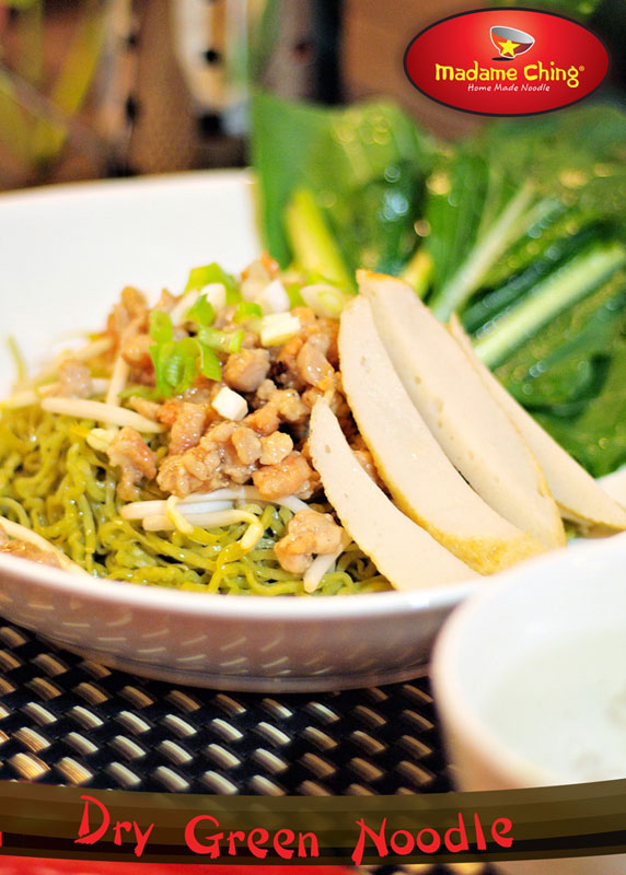 Dry Green Noodle