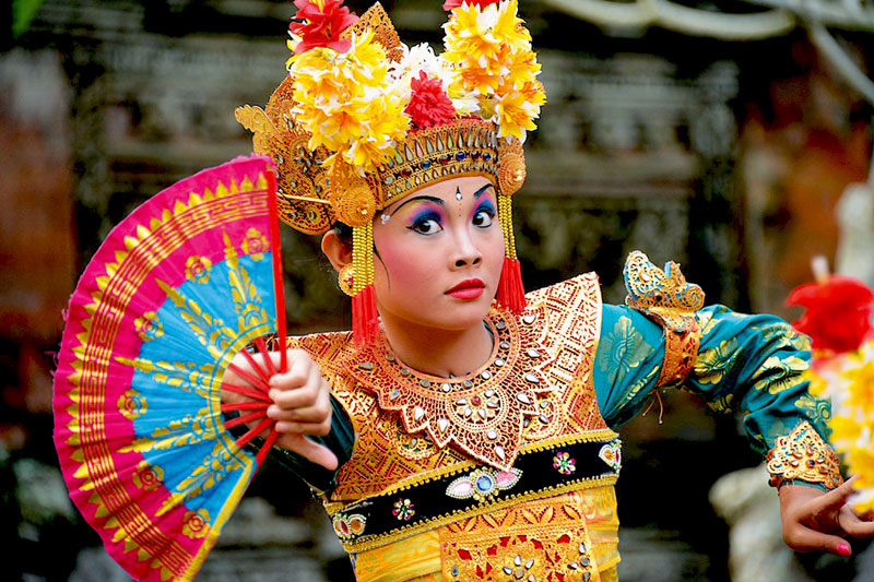 Ti Tin - The Balinese Dancer