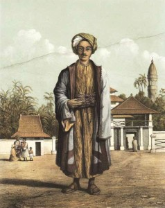 A hadji from the Dutch East Indies