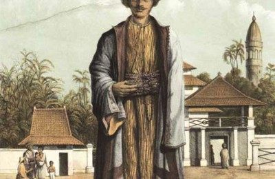 A hadji from the Dutch East Indies