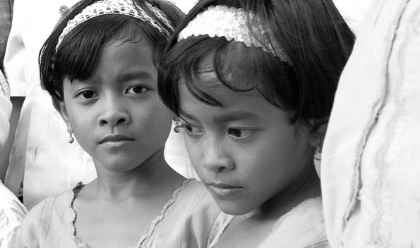 Dwi Anggayani with Trisna - 1998