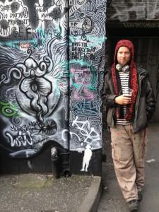 Morganico - London urban artist (and my ex-stepson)