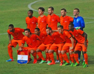 The Netherlands National Team Line Up