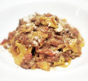 Wagyu Beef Ragout Pappardelle