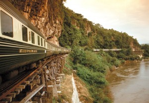 Eastern and Oriental Express-Luxury Train Thailand River