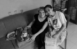 Elena Skoko with Ibu Robin Lim