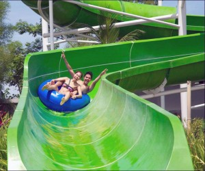 Great slide ride at Circus Waterpark
