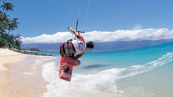 Kite Surfing and Stand-up Paddle Fun