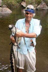 Lawrence Blair on Wetar Island