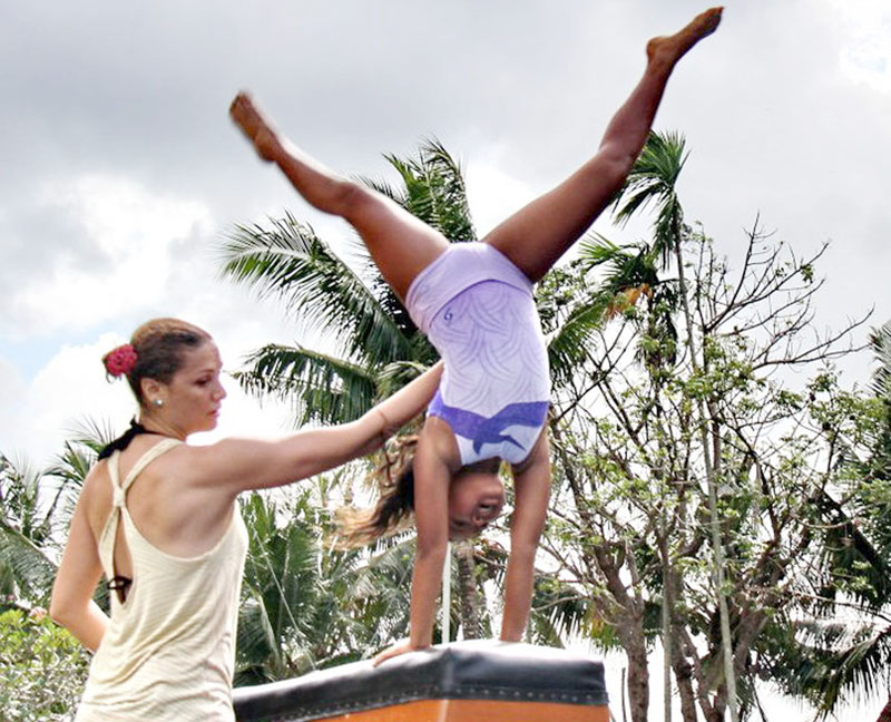 Patricia Anne Kincaid - The woman who brought gymnastics to south Bali