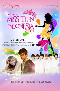 Scams - Miss Teen Indonesia Poster