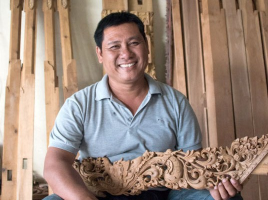 Nyoman Jiwa - The Woodcarver