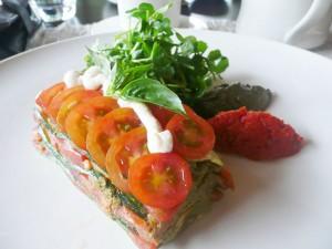 Raw Lasagna - Glow Restaurant
