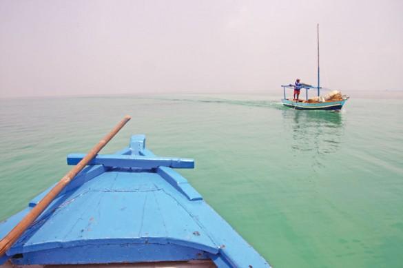 Boat Rip Horizon