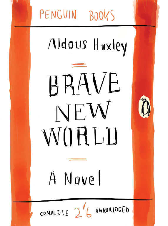 """a review of aldous huxleys novel brave new world Reading 'brave new world' in aldous huxley's former home to discuss aldous huxley's """"brave new world"""" in the author's world book review."""