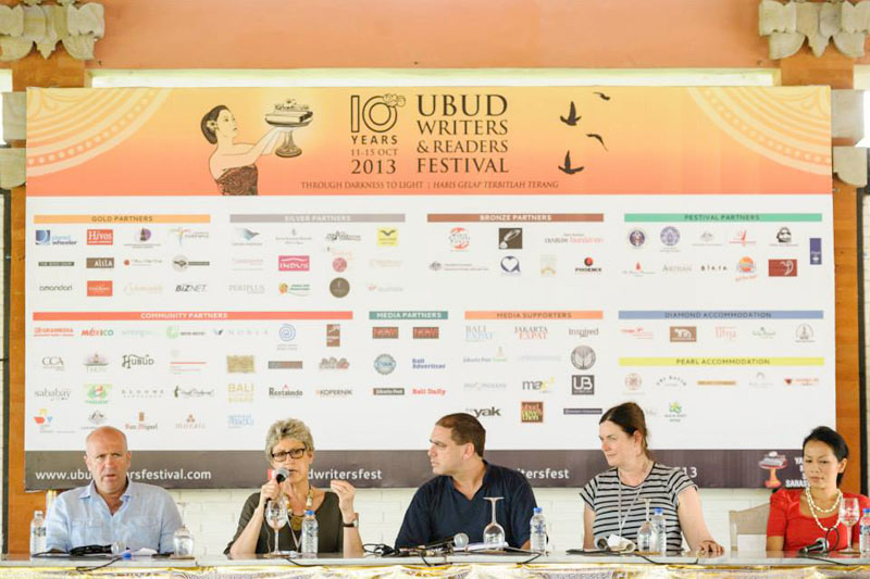 Ubud Writers and Readers Festival 2013