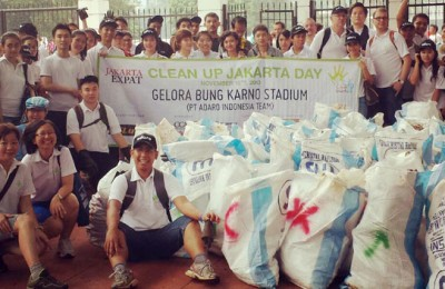 Clean Up Jakarta Day 2013