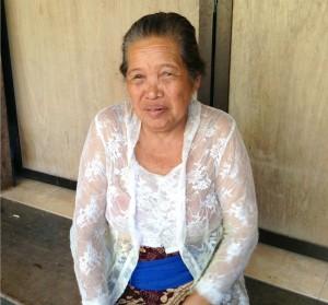 Grandma Ni Made Sibuh of Petemon Village