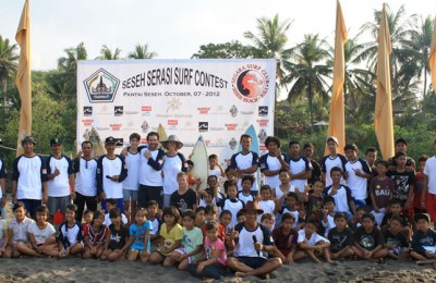 Seseh Serasi Surf Contest 2012 Participants