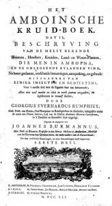 Herbarium Amboinense