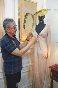 Princess Diana Dress by Harry Darsono