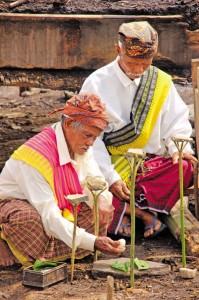 Wae Rebo - Molos Ceremony