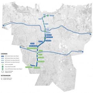 Map of MRT