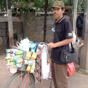 Trisno the Mobile Coffee Seller