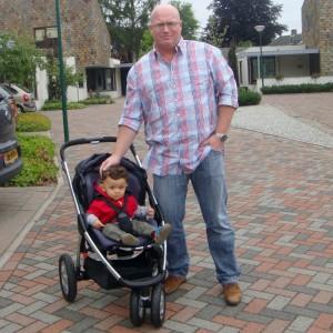 Boris and son Caz