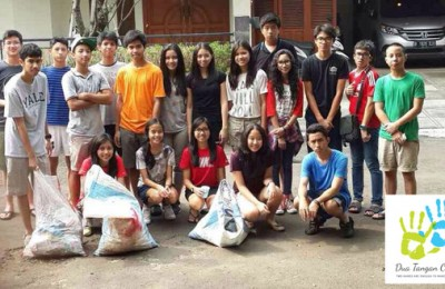 Grade 10 Cleanup on Cipete Raya