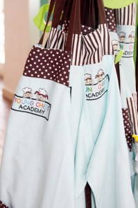 Young Chef's Academy Aprons